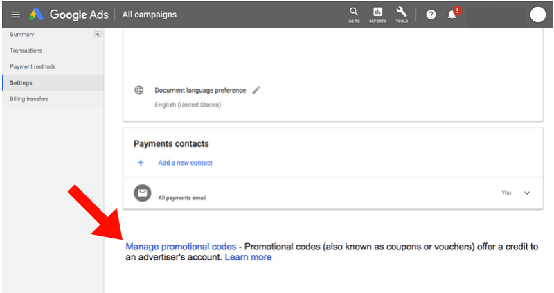 Buy Google Ads Coupons
