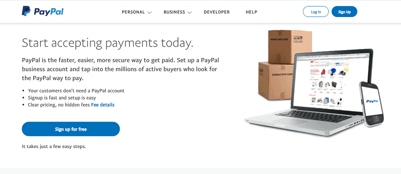 PayPal Business Accounts