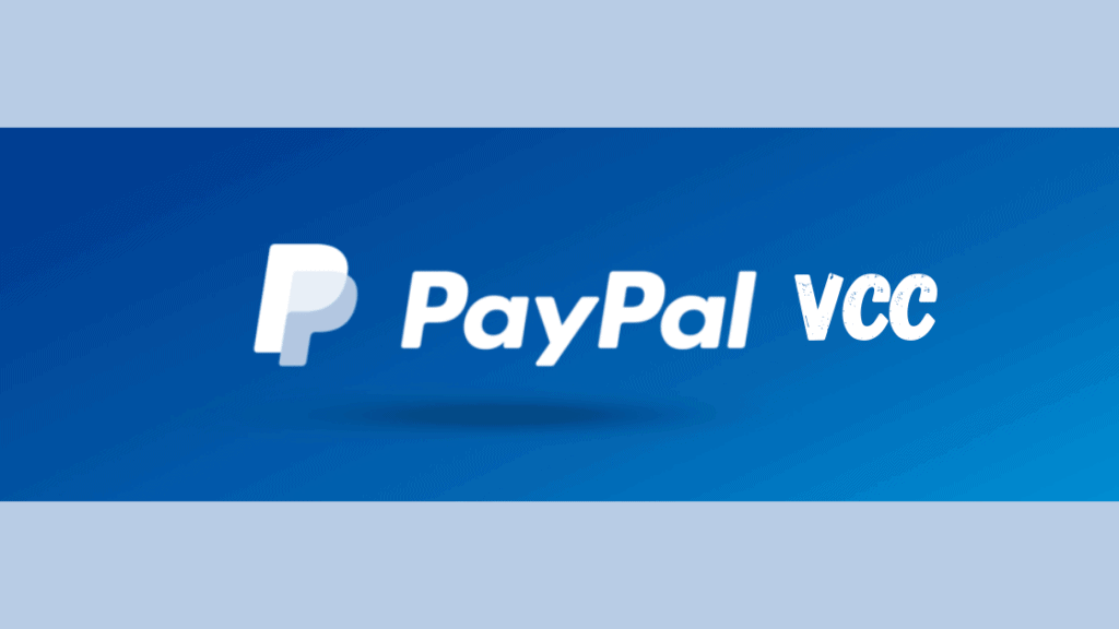 Buy PayPal VCC